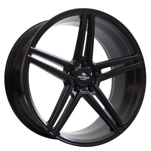 Forzza Bosan 9,5X19 5X120 ET37 YU3227 72,6 Satin Black