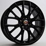 Noir 7X17 4X100 ET40 56,10 Black