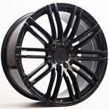 Parma 10X22 5X130 ET55 71,56 Black